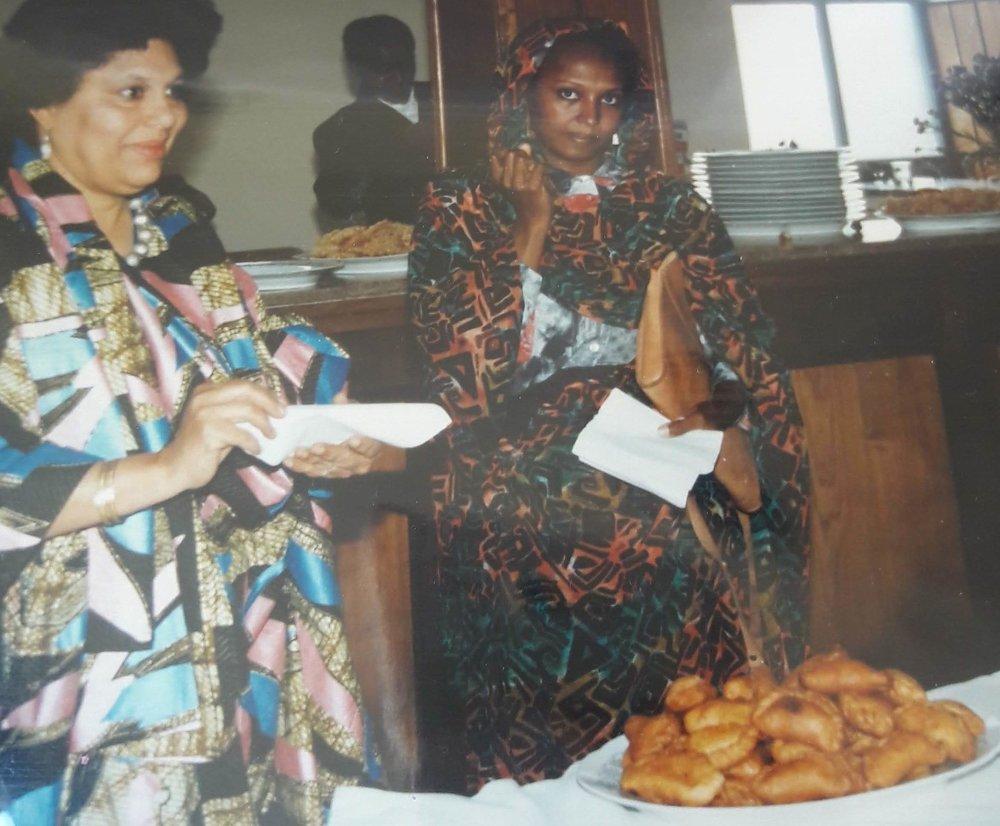 My dearest grandmother Gladys, Addis Ababa, Ethiopia 1994