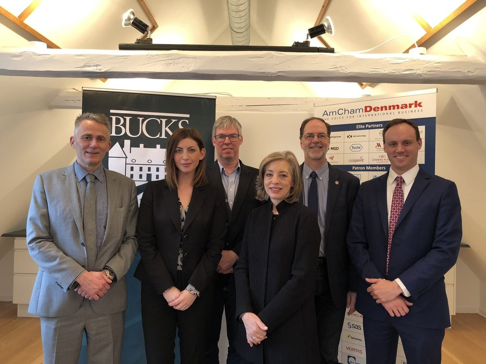 """How Storytelling Can Improve Your Business Story - On December 8, 2017, The """"AmCham Loft"""" formed the backdrop for a Power Breakfast on the importance of storytelling with experts from Bucks County Community College."""