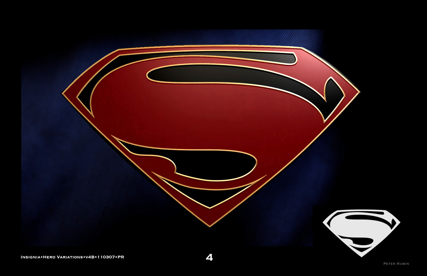 Man Of Steel Peter Mitchell Rubin Design And Concept Art