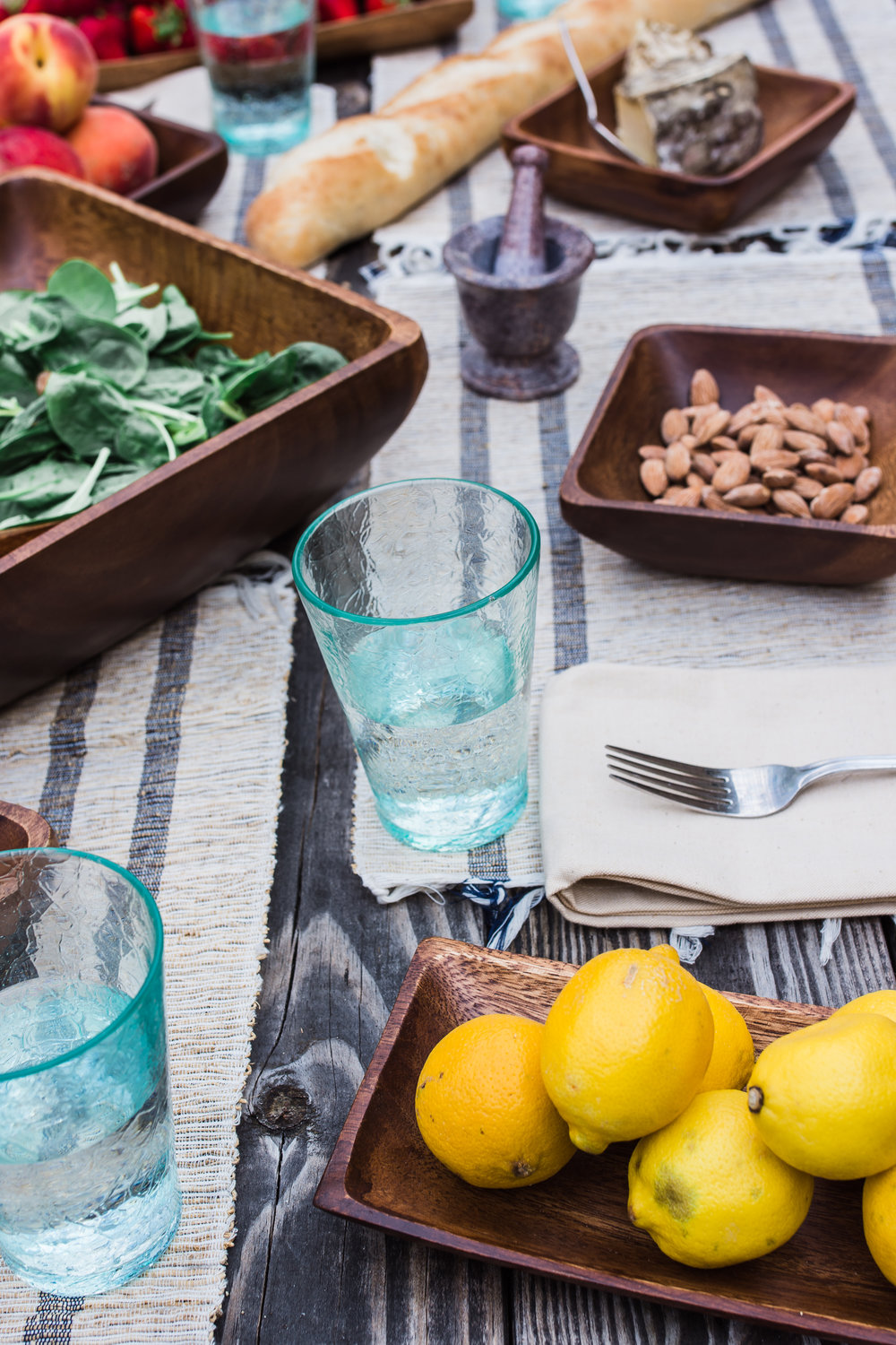 tablesetting food photography