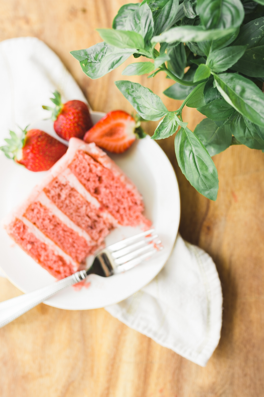 strawberry cake Ashley Macs