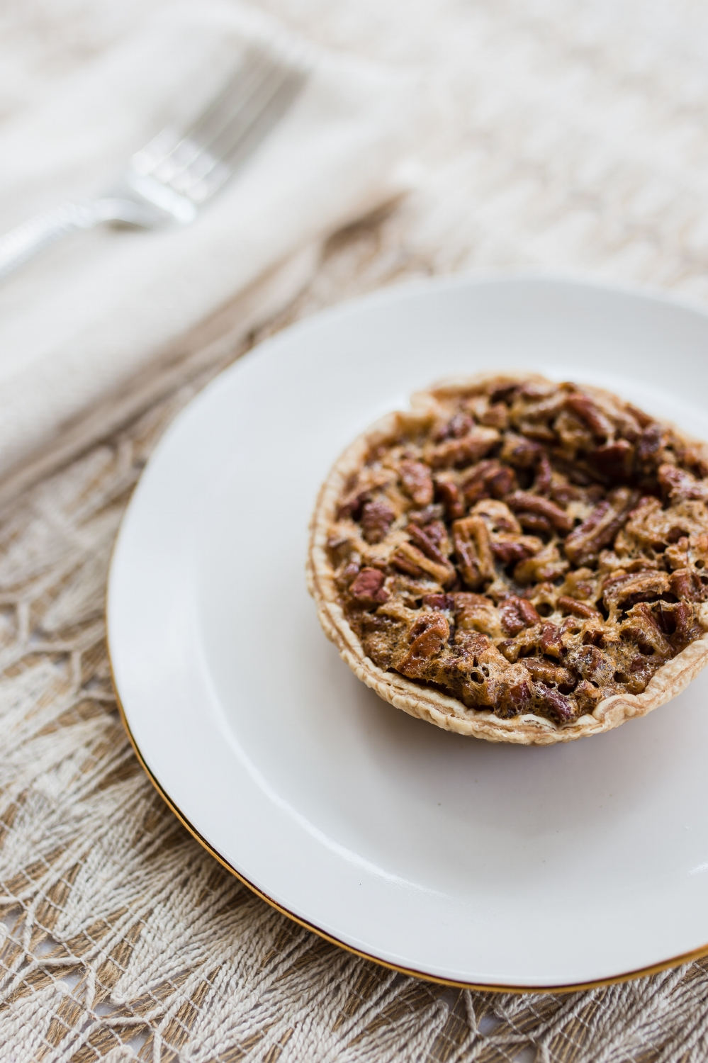 pecan pie food photography