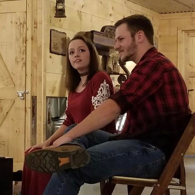 These two are Engaged!!💍. Loved having you at the Barn to celebrate!#engaged #wedding#love#venue#beechtreefarmvenue#mrandmrs