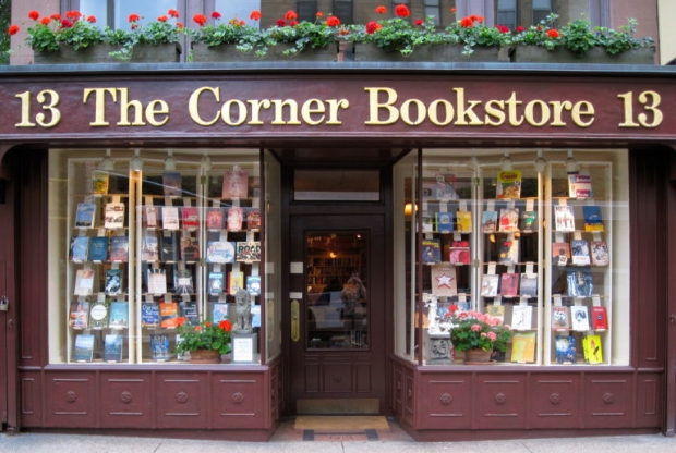 UPPER EAST SIDE:  The Corner Bookstore  Located on 1313 Madison Avenue