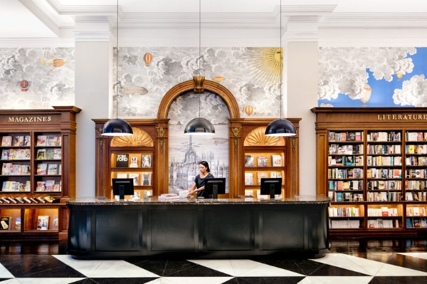 NoMad:  Rizzoli Bookstore  located at 1133 Broadway