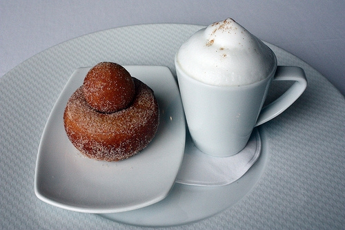 6. Coffee and Doughnuts at  Per Se