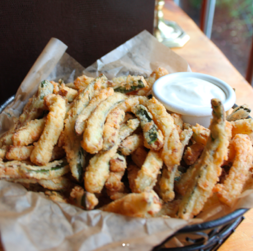 1. Fried Zucchini at  The Black Horse Tavern  in Mendham, New Jersey
