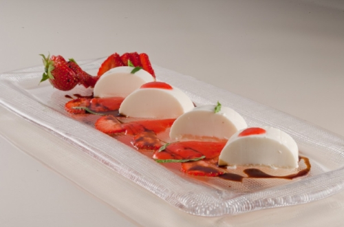 5. Burrata at  The Four Seasons Milan