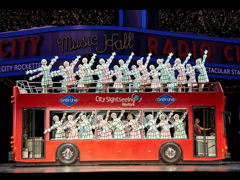1. WATCH:The Radio City Rockettes' Christmas Spectacular show