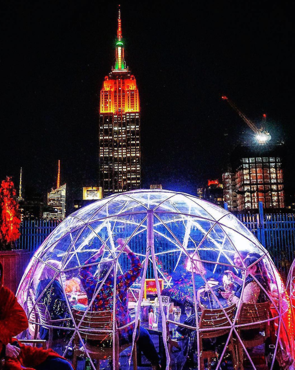 8. EXPERIENCE:The igloos at 230 Fifth