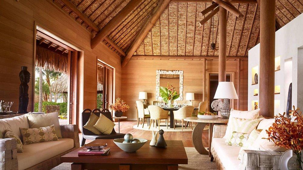 2.  Four Seasons Bora Bora