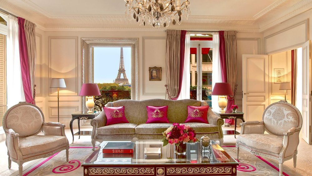 4. Hôtel Plaza Athénée  in Paris