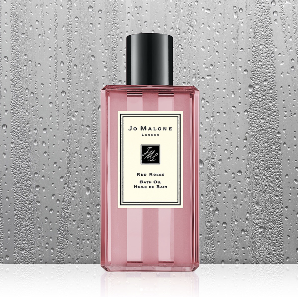 Jo Malone - Red Roses Bath OilCan you think of anything more appropriate to set the mood for a romantic night out like the sweet scent of red roses? We didn't think so either.