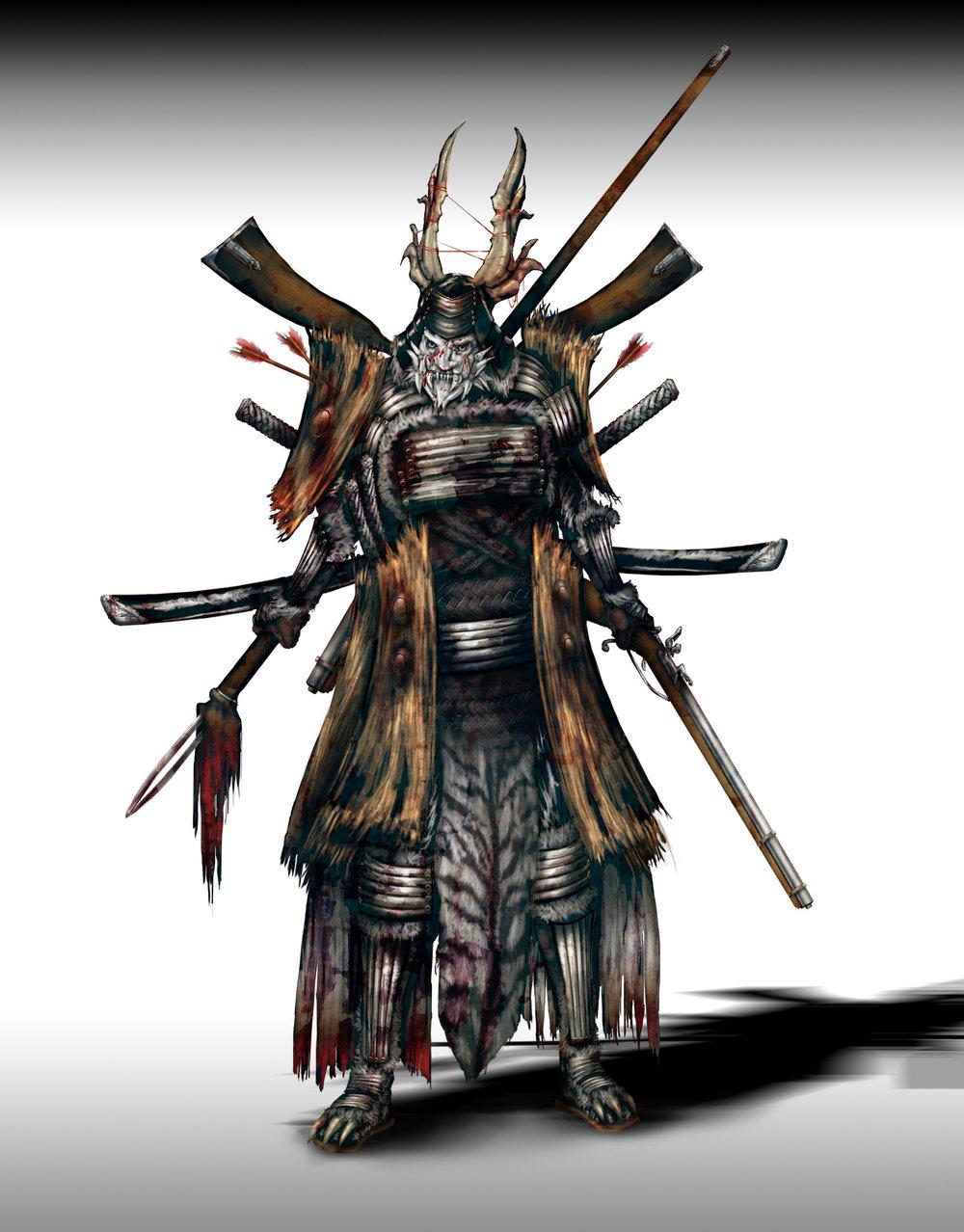 Samurai, Final