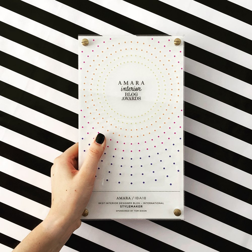 Amara Interior Blog Award Winner