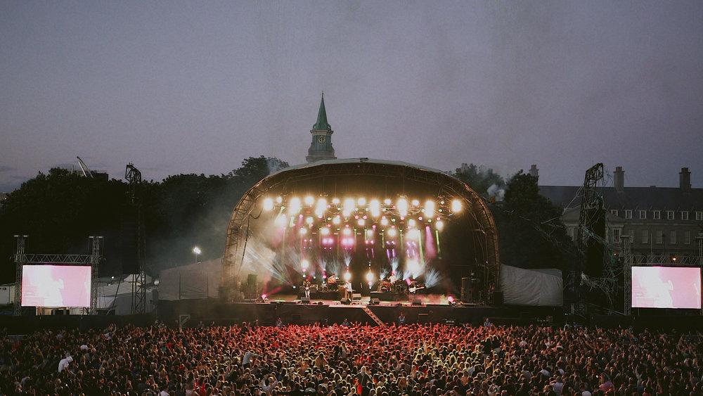 Copy of The Coronas Live at Royal Kilmainham Hospital