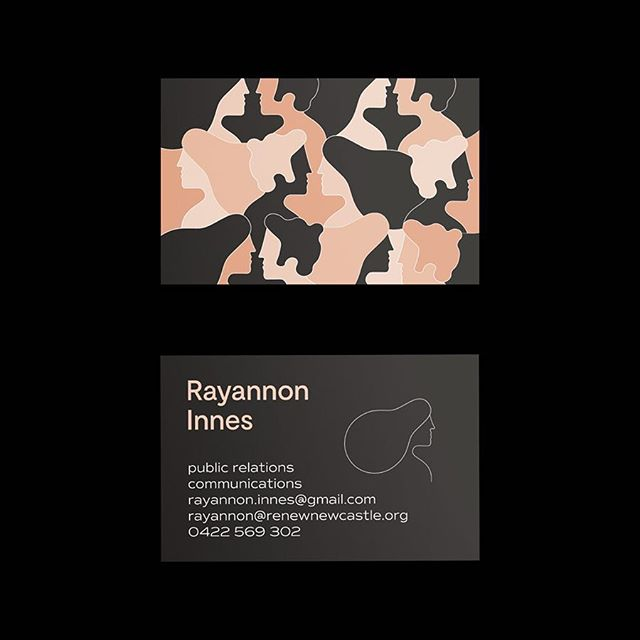 Something a little different from me! New business cards for @rayannon who specialise in PR and Communications. The pattern represents how PR is often behind the scenes like camouflage and the power of word of mouth! Meaningful mingling! #publication #design #art #instagood #graphicdesign #minimal #contemporary #colour #type #branding #identity #marks #symbols #projects #melbourne #typography #thedesigntip #artdirection #style #tdkpeepshow #vsljrnl #collectgraphics #newcastle#designspiration #tdkpeepshow #inspofinds #brandcuration  #businesscards #pattern #visualjournal #collectgraphics