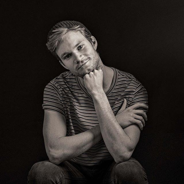 André, som er et av våre bilder som ble premiert i Landskonkurransen, Norges Fotografforbund  #mafotografene #halden #østfold#norway #portrettfotograf #bw#nikon#portrait