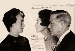 - Le Duc et la Duchesse de Windsor, clients de la société familiale dans les années 1930 en compagnie de Madeleine Porthault.The Duc and Duchesse of Windsor, customers of the brand in the 30's with Madeleine Porthault