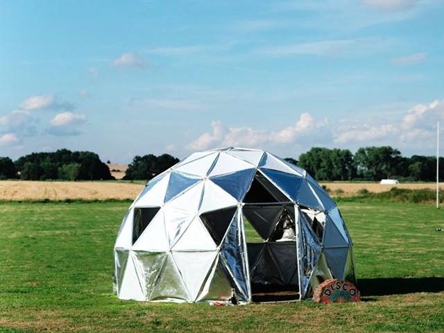 The walk-in mirror ball / disco dome
