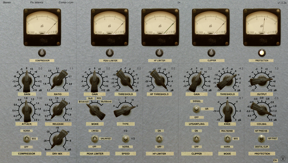 Limiter 6 by Vladislav Goncharov is a free limiter. I love to use it in another way, for another purpose, I like the clipper to give an edge to drums when I'm mixing, but the limiter section is also useful. The gain reduction meter shows a reduction of 3db max. it won't show more than that which is great because I will claim that you don't need much more than that to avoid squashing your music too much :) If you later feel so inclined, use a different limiter with greater possibilities.