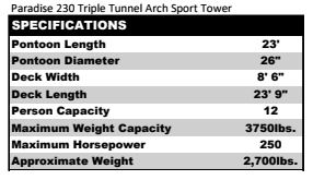 Paradise 230 Triple Tunnel Arch Sport Tower.PNG