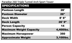 Paradise 260 Triple Tunnel Arch Sport Tower.PNG