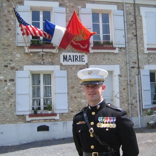 Visiting Belleau, France - 2006  -