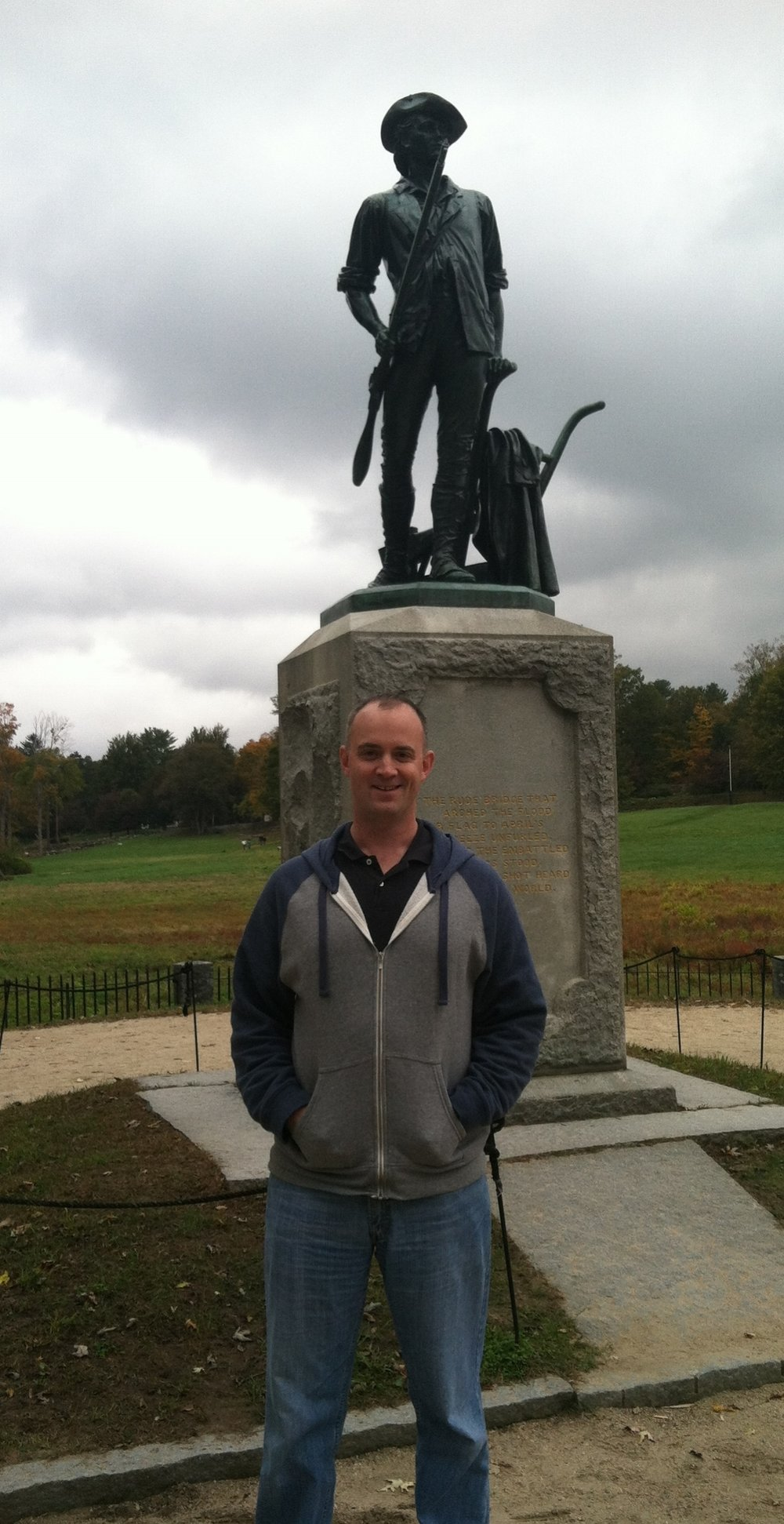 Visiting Minuteman National Park, Concord - 2013 -