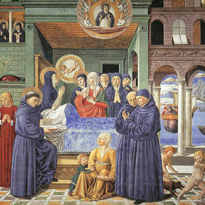 The Death of St. Monica