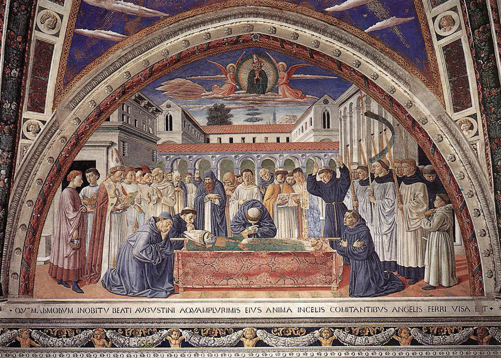 Death of Augustine
