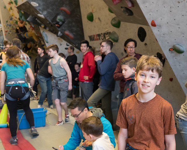 Difficulty Comp @ Elevation Place - Canmore, March 16, 2019 (Peter Kwan)