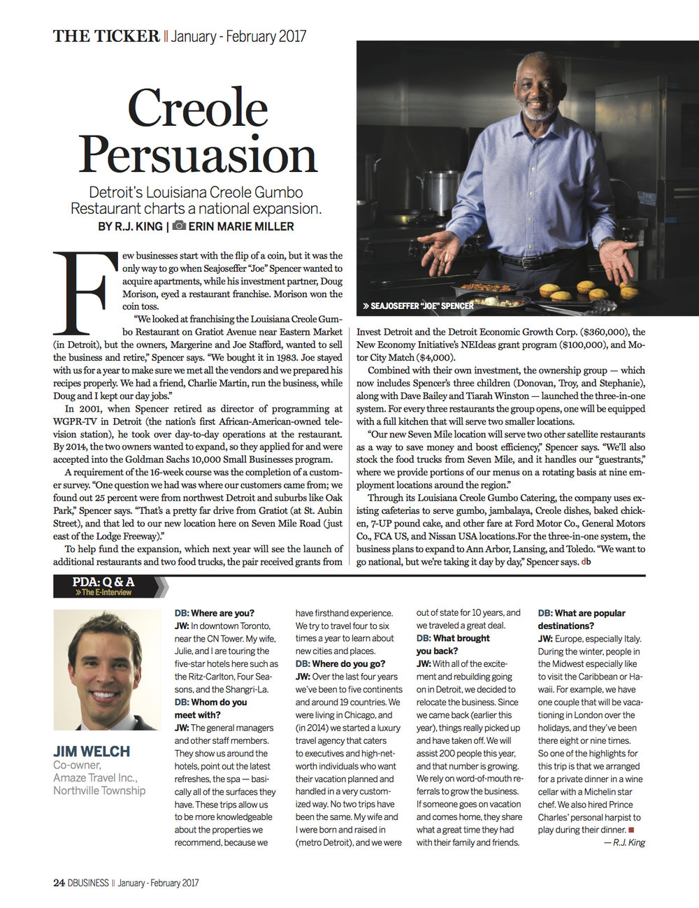 DBUSINESS Magazine -