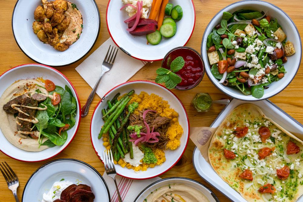 Spread Mediterranean Kitchen - Winter 2018