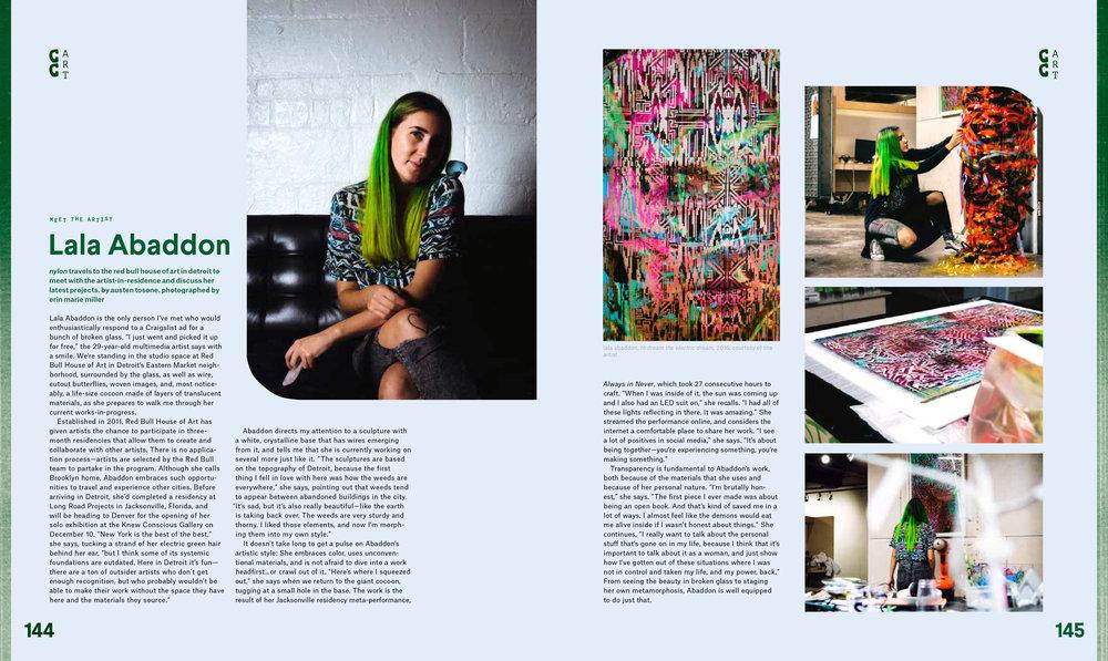 Nylon Magazine, 2017