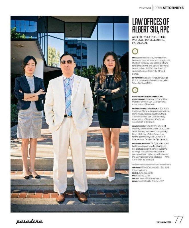 Pasadena Magazine, 2018