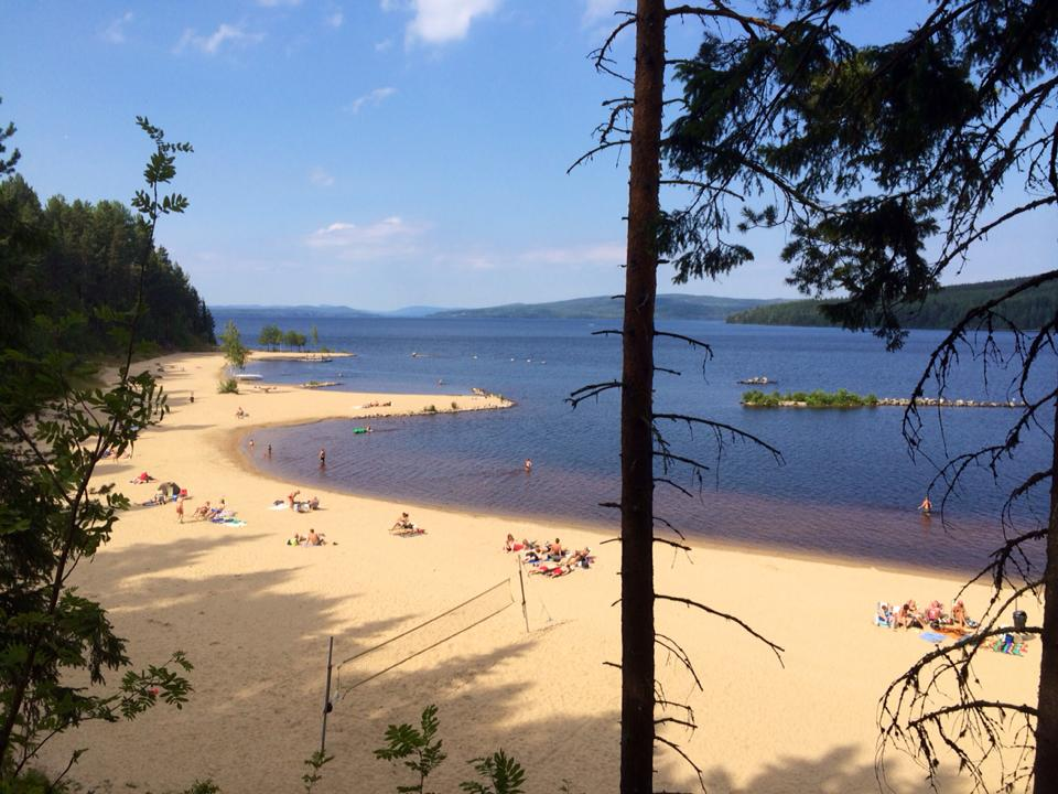 Orbaden beach in Hälsingland! Such a beautiful beach and place to visit! About 1hour drive.