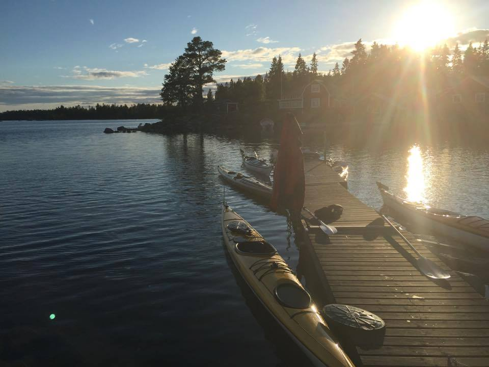 Rent a kayak and take a tour of the beautiful lakes of Hälsingland