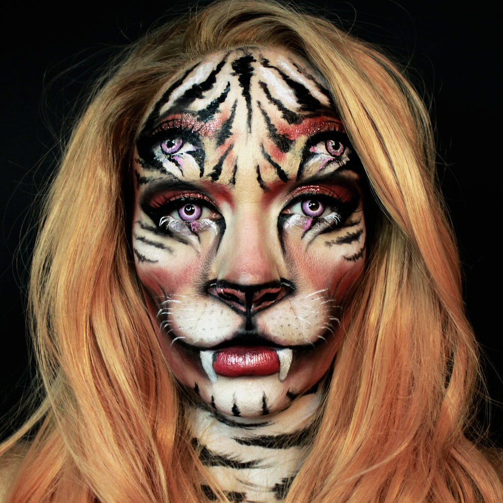 FX Illusion Face Paint by Metamorphosia FX