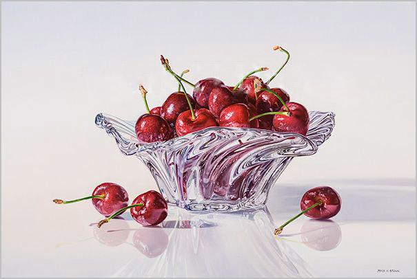 Cherries, 12x18