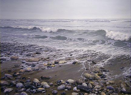 Receding Tide, 30x40