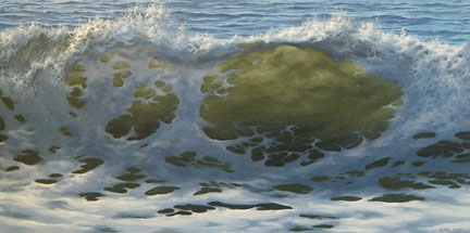Patterns in Rising Wave, 24x48