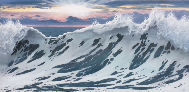 Dawn Wave, 36x72