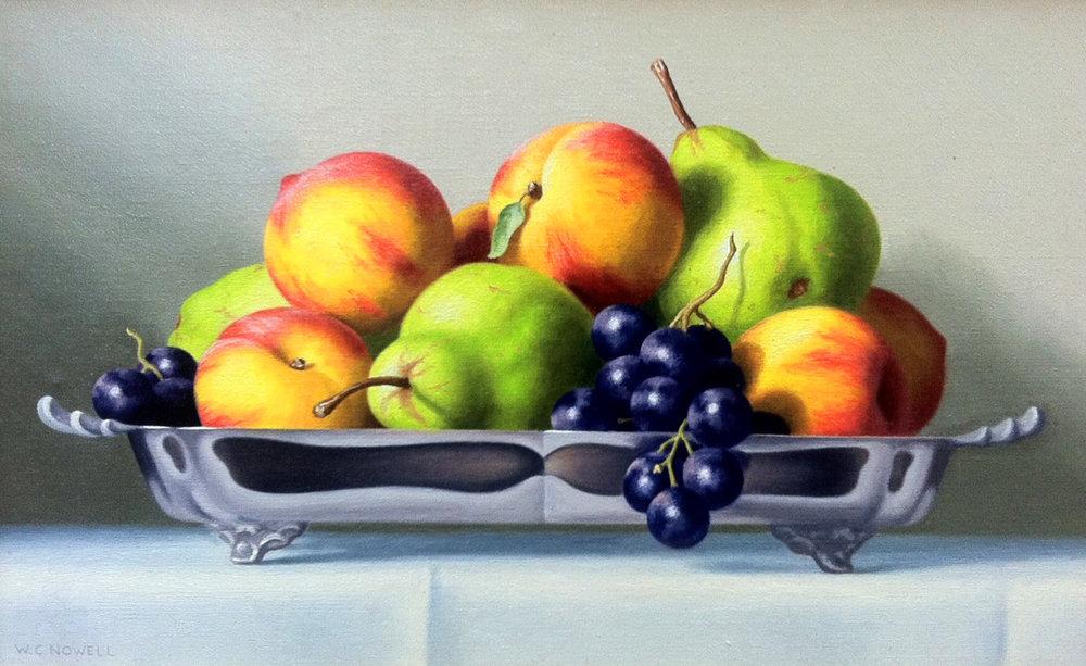 Fruit in dish, 10x16