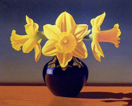 Daffodil Trio, 24x30