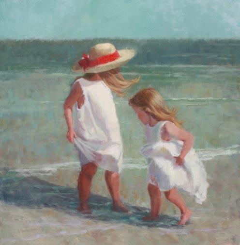 Beach Wonder, 48x48
