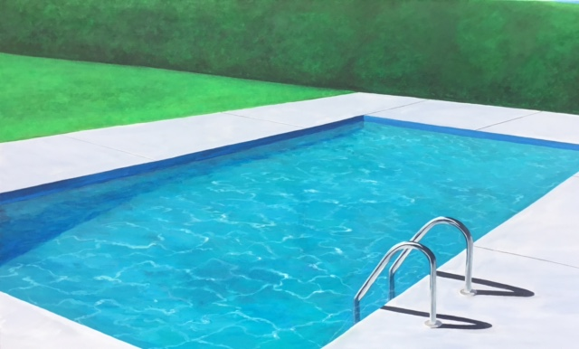 Lets Go For A Swim, 36x60