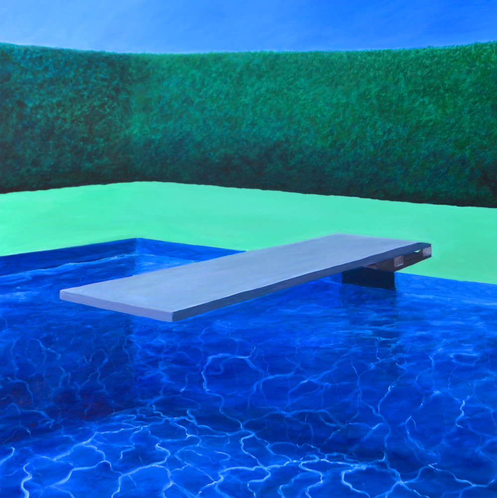 Dive In, 36x36