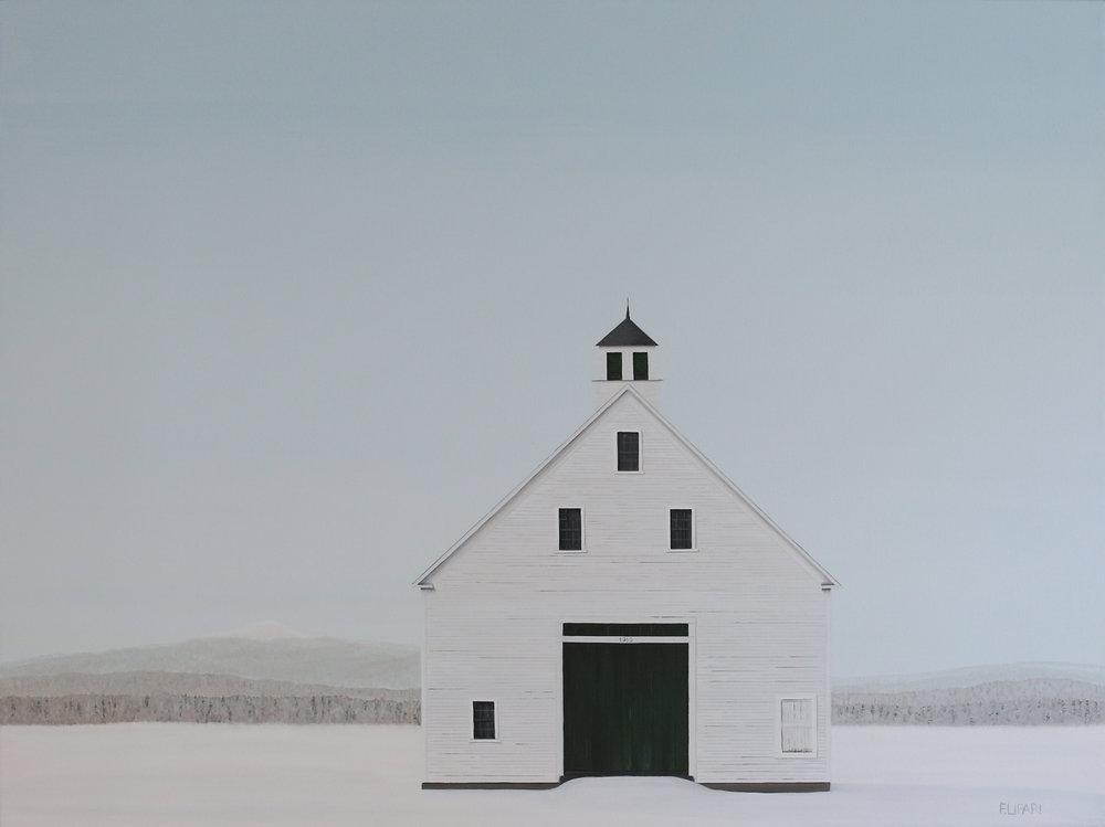 Winterland, 30x40, (Private Collection)