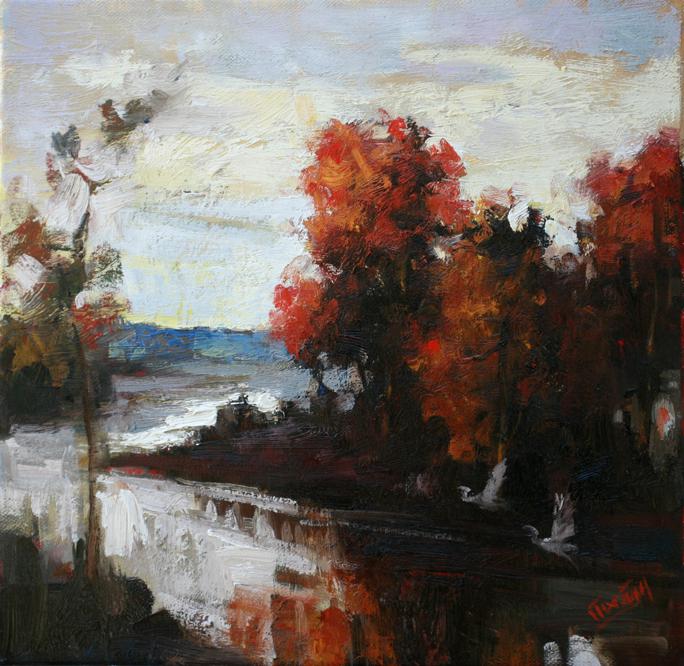Autumn Surprise, 12x12